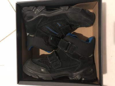 Зимние ботинки для мальчика ECCO