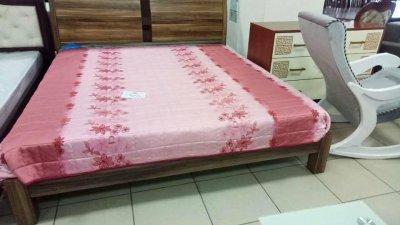 Кровать Зебрано