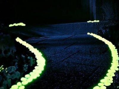 Камни с великолепным свечением в темноте, яркое свечение до 8 - 12 часов в сутки