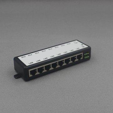 POE Инжектор 8 канальный для IP - камер