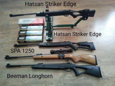 Пневматические тюнингованные винтовки для охоты!