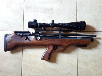Тюнингованные пневматические РСР винтовки для охоты
