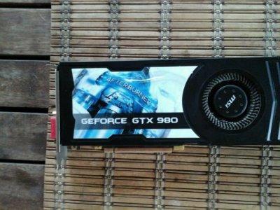 Продам видеокарту MSI NVIDIA GEFORCE GTX 980 4GD5