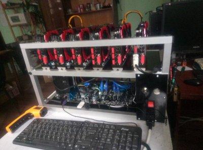 Майнер 1060 3Gb 8 штук