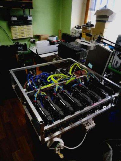 Майнер 1080Ti Turbo x 8 шт.