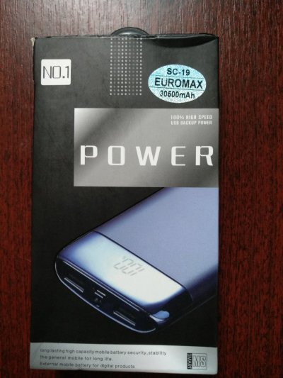 Power Bank EUROMAX 30500 mah