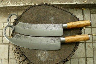 Пара кухоных топориков для измельчния мяса (гиймякеш)
