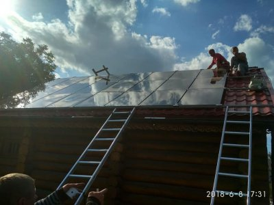 Солнечны батареи, электростанции Solar Watt