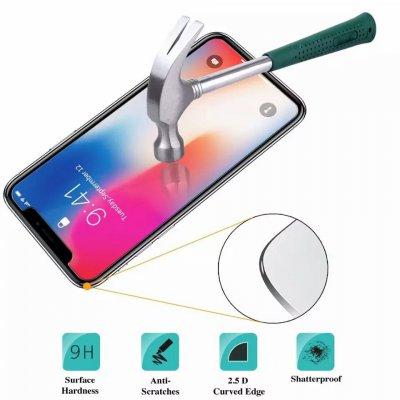 Защитное стекло 9H 0.26mm для iPhone 5/6/7/8/X