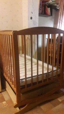 Детская кроватка - колыбельная.