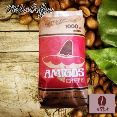 Кофе в зернах Amigos caffe Extra Bar 1 кг