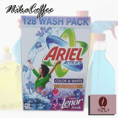 Стиральный порошок Ariel actilift color and white 10 кг