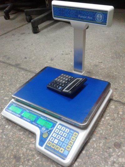 Весы Вагар VP-M-15 б/у, торговые весы б у, весы б у
