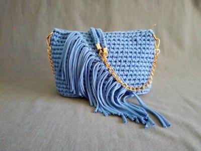 Сизая сумка