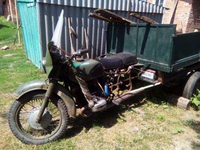 Краще за мотоблок. Трицикл грузовой самодельный,вантажний саморобний мотоцикл триколісний