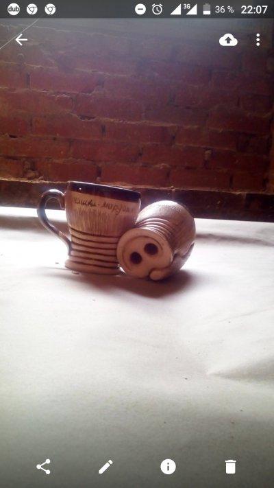 Чашка-мордашка