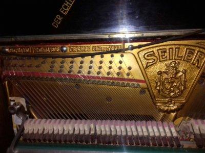 Продам немецкое пианино Seiler начала ХХ века