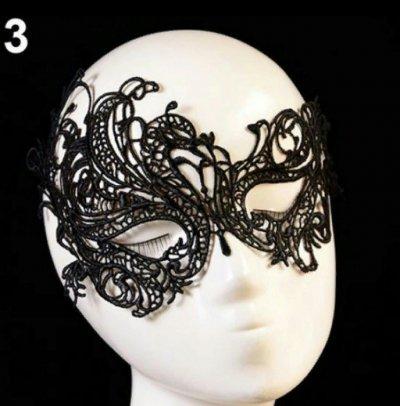 Черная маска на лицо для девушек ролевые игры