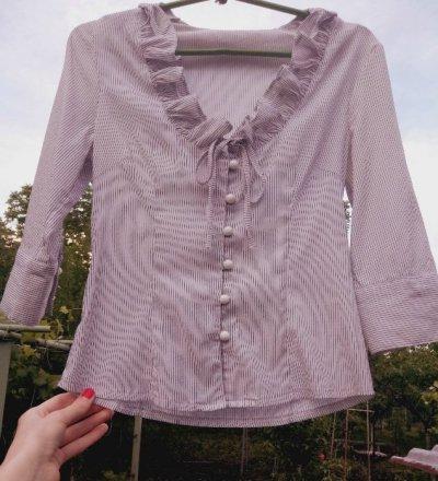 Женская рубашка кофточка в отличном состоянии