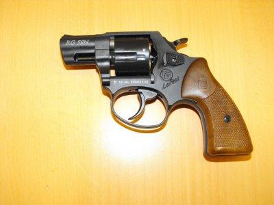 Макет немецкого газового пистолета Rohm RG59