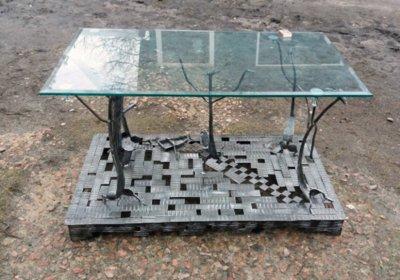 Изготовление кованой металлической мебели