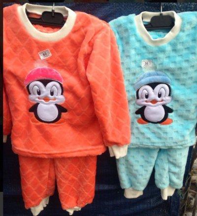 Пижама детская ( велсофт)