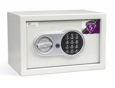 Мебельный сейф взломостойкий Ferocon БС-21Е.7035 (габариты: Ш*В*Г:310х200х200) для дома, офиса
