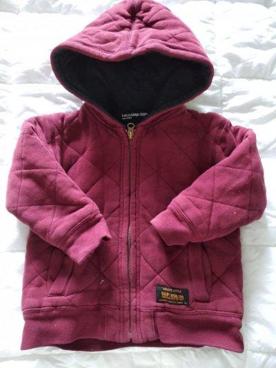 Очень тёплая кофта-куртка