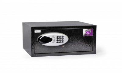 Сейф Ferocon ЕС-26Е.9005, (Размеры: 450 x 200 x 400 мм) 4 ММ ДВЕРЬ для дома, офиса, гостинницы