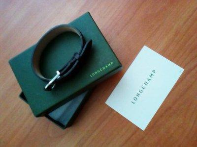 Longchamp кожаный браслет