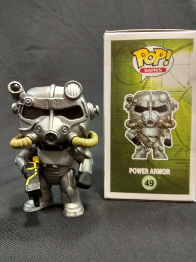 Фигурка Funko Pop Power armor Фаллаут Fallout