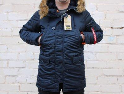 Продам оригинальную куртку Alpha Industries N-3B Slim-Fit мужская США