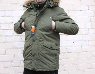 Продам новую куртку Ben Sherman мужская зимняя аляска парка из Англии