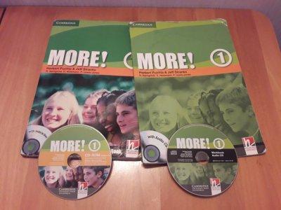 Учебник и тетрадь по Английскому языку More 1 + диски