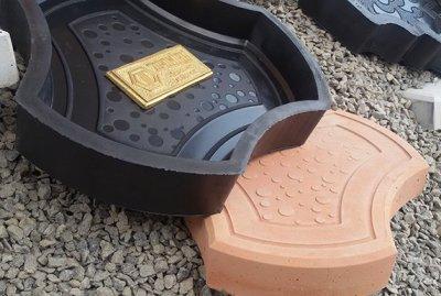Формы для производства тротуарной плитки