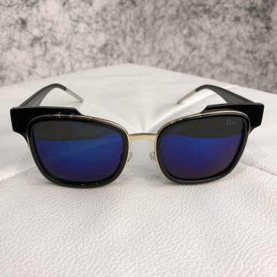 Dior Sunglasses Sideral 1J6C/KU Black/Blue. Женские очки