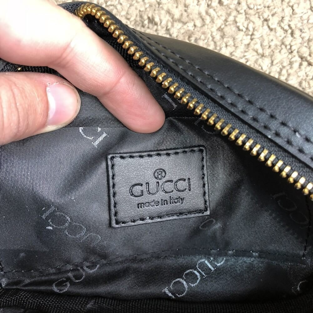 c2837beb98fb Gucci GG Marmont Matelassé Belt Bag Black. Женская сумка / Женские ...