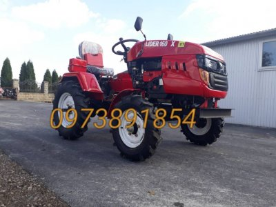 Мототрактор Лідер, Lider 160 Х,фреза+плуг,трактор,міні трактор,трактор,мотоблок,лидер