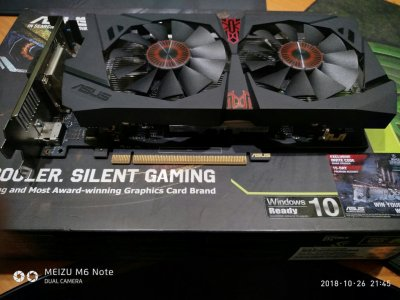 Asus GeForce GTX 950 Strix GAMING 2048MB GDDR5 (128bit) На гарантии.
