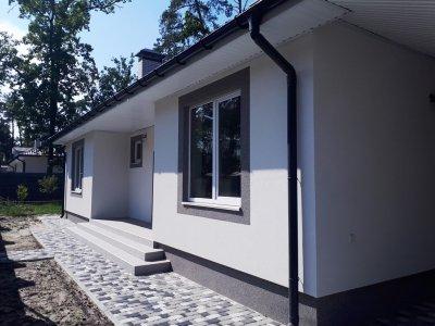 Новый одноэтажный дом под чистовую отделку