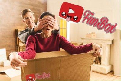 FunBox сервис случайных подарков, подарочный набор Одесса