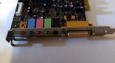 Звуковая карта PCI Creative Live 5.1 SB0220