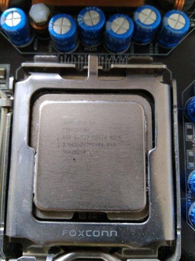 Материнская плата Asus P5AD2-Premium s775+P4 3,4 Ghz