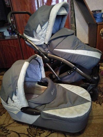 Продам детскую коляску 2в1 зима-лето
