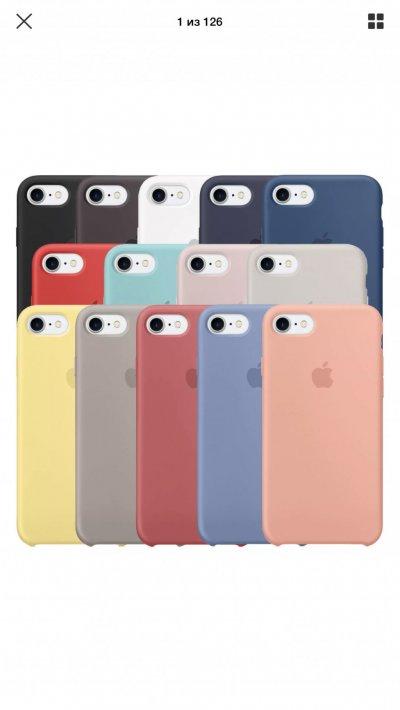 Чехол силиконовый iPhone
