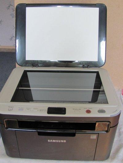 МФУ Samsung SCX-3200 перепрошитый с картриджем