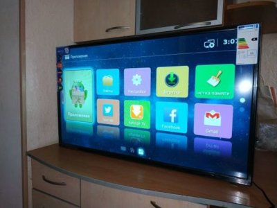 Smart TV 32 дюйма, Android, WiFi DVB-T2, FullHD