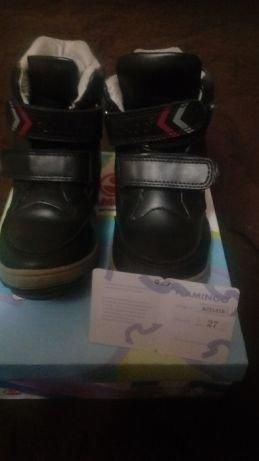 Зимние ботинки Flamingo натур кожа/мех р -27
