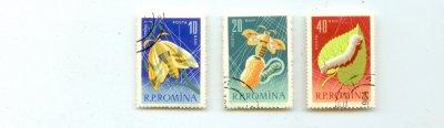 Румыния 1963 г. По Михелю MH# RO2214-RO2221 гашеные