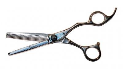 Полуэргономичные филировочные ножницы Olivia Garden Xtreme 6.35
